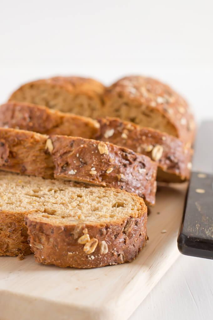 Bruschetta Bread   danceofstoves.com