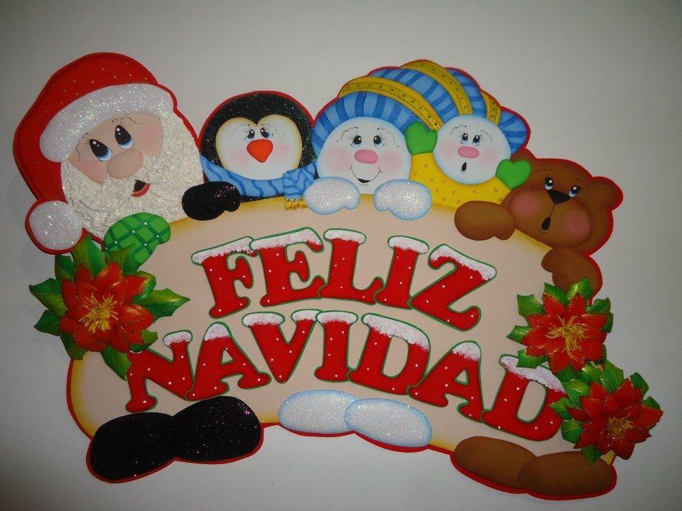 Foamy adornos navide os for Manualidades souvenirs navidenos