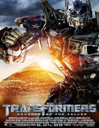 Poster Of Transformers Revenge of the Fallen 2009 Dual Audio 475MB BRRip 720p ESubs HEVC Free Download Watch Online Worldfree4u