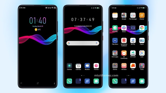 Eiseu Dark v11 Mi Theme | Best Lockscreen Customization | Best Icon Pack MIUI Theme