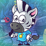 Play Games4King - G4K Moderate Zebra Escape Game
