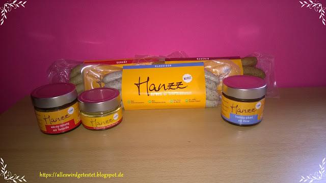 Hanzz Bratwurst und Hanzz Tunke