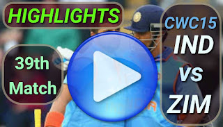 IND vs ZIM 39th Match