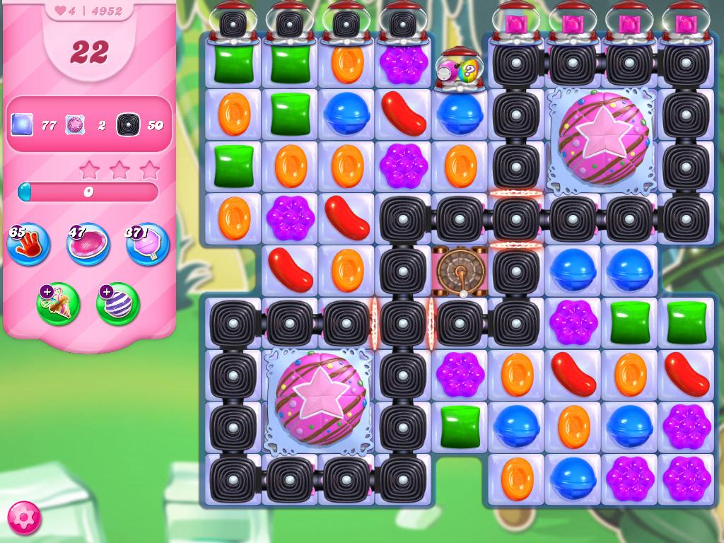 Candy Crush Saga level 4952