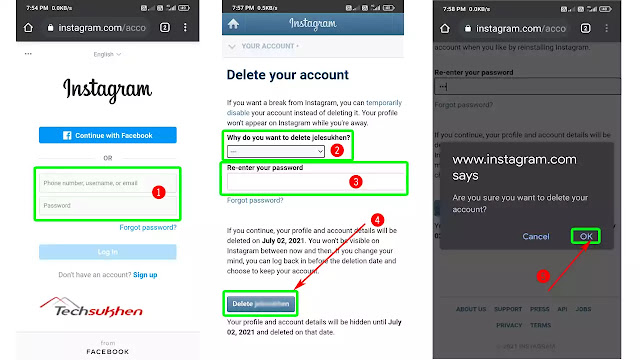 The Advanced Guide on how to delete an Instagram account