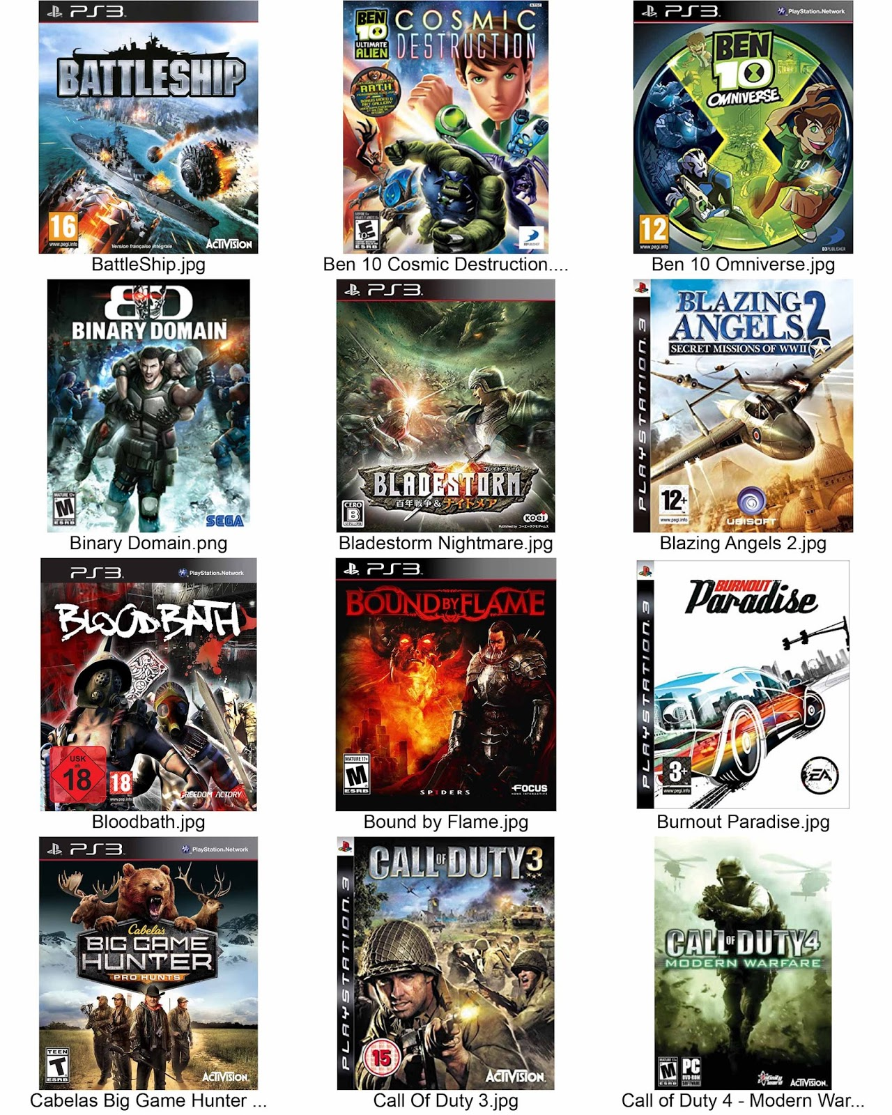 Ps3 exclusive game list