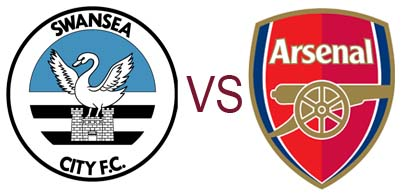 Prediksi Skor Swansea City vs Arsenal 06 Januari 2013