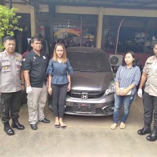 Korban Pencurian Mobil Di Kotamadya Tangerang, Apresiasi Kinerja Polsek Cipondoh