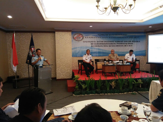 Tingkatkan Sinergi, Bakamla RI Gelar Forum Koordinasi Ke-4