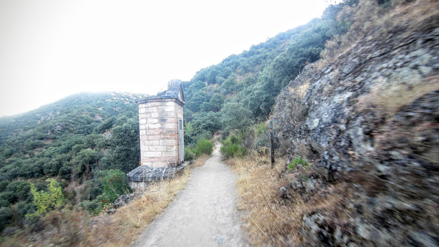Respiradero de canal de El Mesto