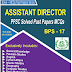 Assistant Director Past Papers PPSC PDF