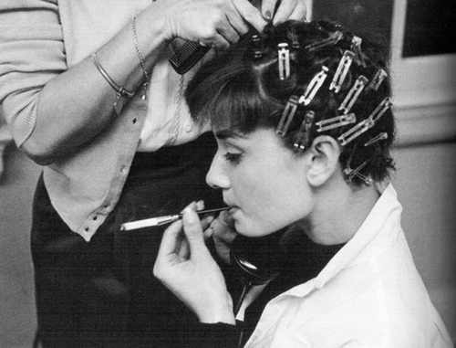 Vintage Pin Curls Diagram Trailer Wiring 7 Flat Nz The Hair Style File Elizabeth Taylor Sets 1950s Trends In Short Audrey Tatou Is Famous For Her Esque Cut And