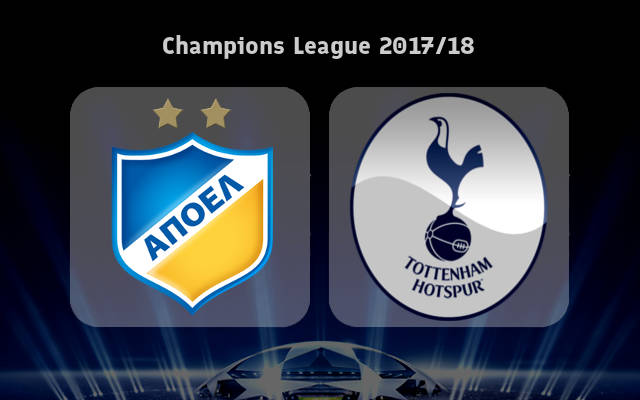APOEL Nicosia vs Tottenham Full Match & Highlights 27 September 2017