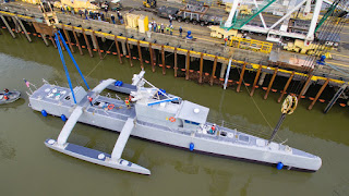 Project Unmanned Ship NOMARS - DARPA