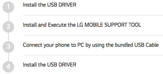 How To Install LG USB Drivers: