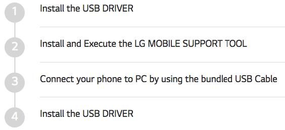 LG G5 Titan H860 USB Drivers & PC Suite Download - Win