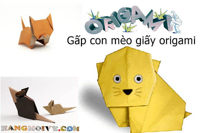 How to make a paper Kitty Cat | Fold Origami Easy step by step