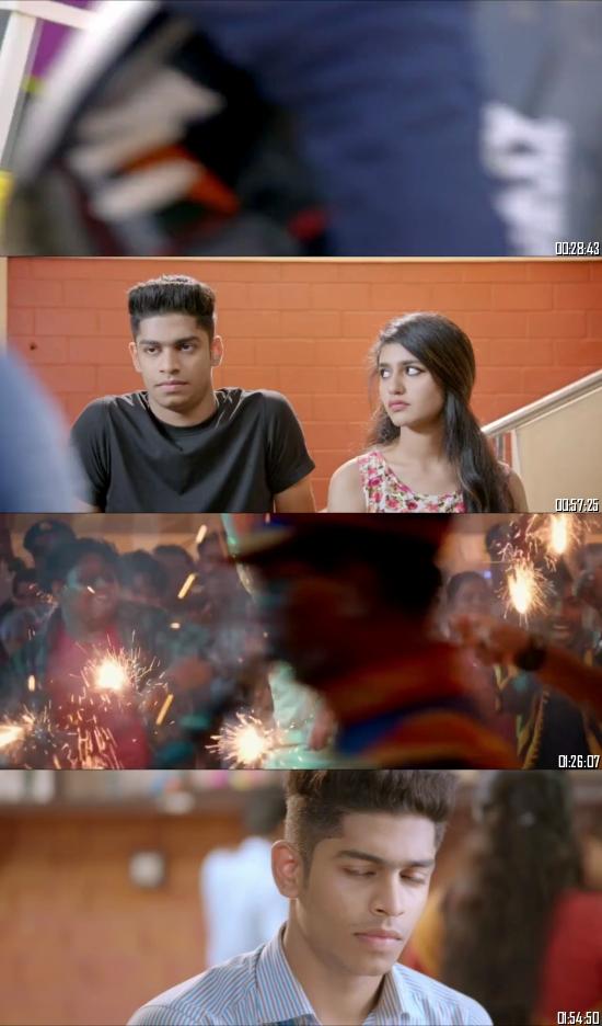 Oru Adaar Love 2019 UNCUT HDRip 720p 480p Dual Audio Hindi Full Movie Download