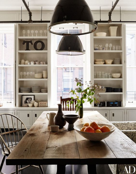 Farmhouse Home Decor} 25 Farmhouse Kitchens in Architectural Digest ...