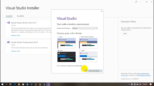 Visual Studio 2019 Free Download | Hack Tech Lanka