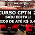Concurso CPTM 2018:  SAIU EDITAL!  Salários de até R$ 3.429,67