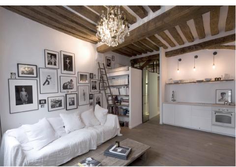 Piccolo appartamento di charme blog di arredamento e for Piani di appartamenti moderni