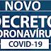 PREFEITURA DIVULGA NOVO DECRETO CORONAVÍRUS