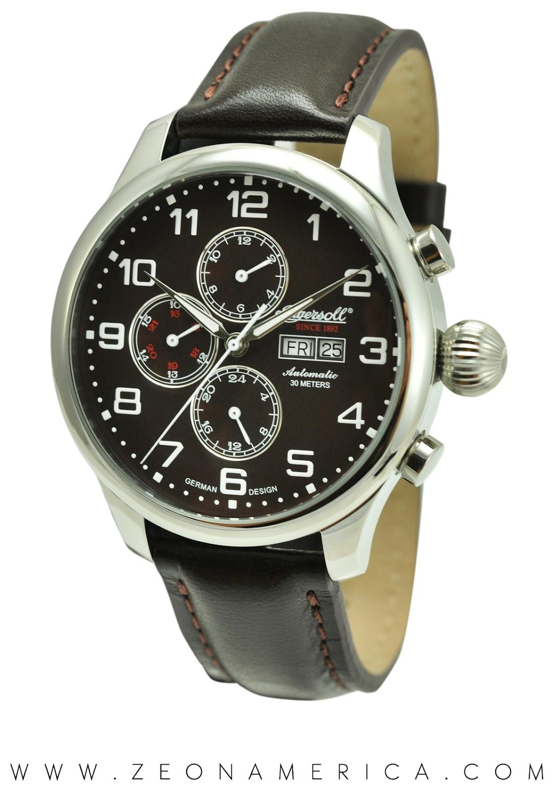 Zeon America Watch Brands  Ingersoll APACHE IN3900BR 718553c1c12