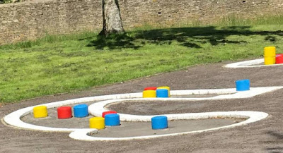 Crazy Golf at St. Michael's Park in Cirencester by Matt Dodd, July 2020
