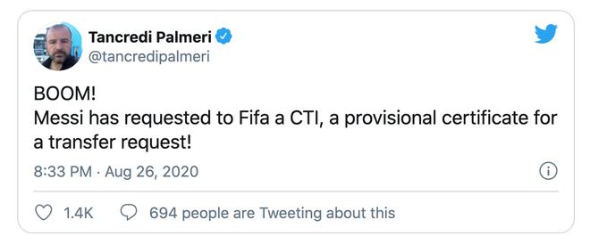 """Messi xin FIFA cấp phép chuyển nhượng, bất ngờ rủ Neymar cùng """"đào tẩu"""" 2"""