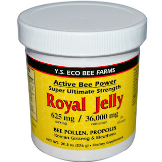 Y.S. Eco Bee Farms, Royal Jelly, 20.3 o