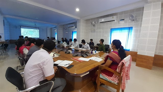 Progress of Multi Modal Logistics Park and other Signature projects reviewed by DC Bongaigaon