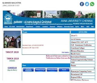 Anna University Sarkari Naukri In Tamil Nadu Recruitment For Senior Associate, Technical Associate & Other Posts