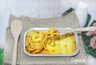 Spaghetti Brulee Panggang, Makanan Kekinian