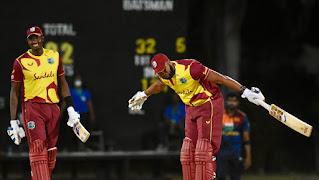 West Indies vs Sri Lanka 1st T20I 2021 Highlights