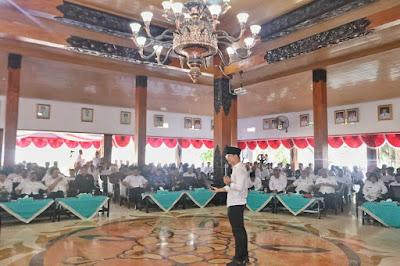 Bupati Trenggalek Pimpin Forum Konsultasi Publik Rancangan Awal RKPD Tahun 2021