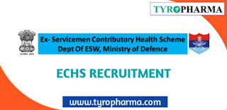 ECHS Vacancy in Maharashtra 2020 - 41 Vacancies for Medical Officer, Pharmacist various posts