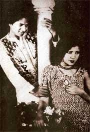 Master_Vithal and Zubeida Begum Dhanrajgir in Alam Ara, 1931