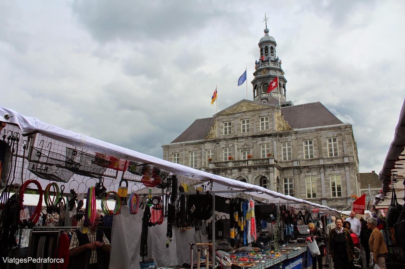 Ajuntament de Maastricht mercat Països Baixos