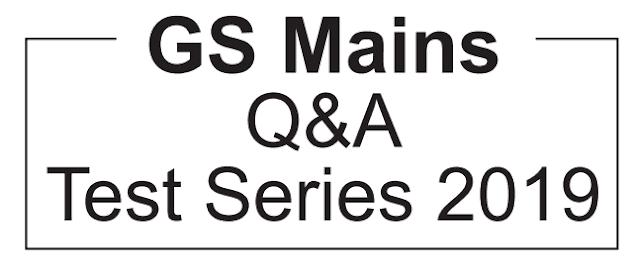 GS Score mains test series 2019