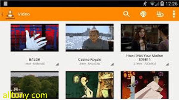 تحميل تطبيق VLC for Android مجانا رابط مباشر