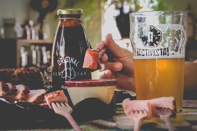 Carne de Charcutaria ao molho Barbecue com Cerveja Artesanal