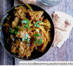 Durban Mutton aand Cabbage Curry Recipe