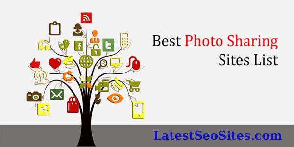 High PR Image Sharing Sites List 2019