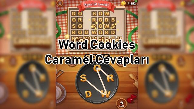 Word Cookies Caramel Cevaplari