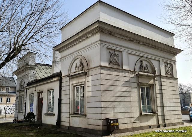 Warszawa Warsaw Jakub Kubicki 1823 architektura architecture Kamionek Praga Południe rogatka