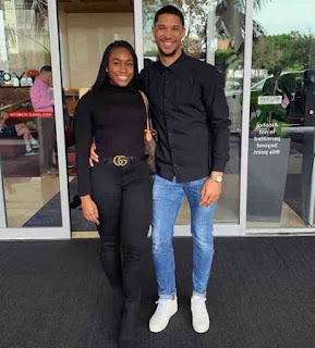 Josh Hart With His Girlfriend