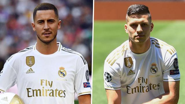 Eden Hazard Dan Jovic Buat Fans Real Madrid Bergairah Lagi
