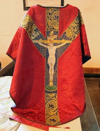 A Vestment by Gothic Revival Master Sir Ninian Comper at Walsingham