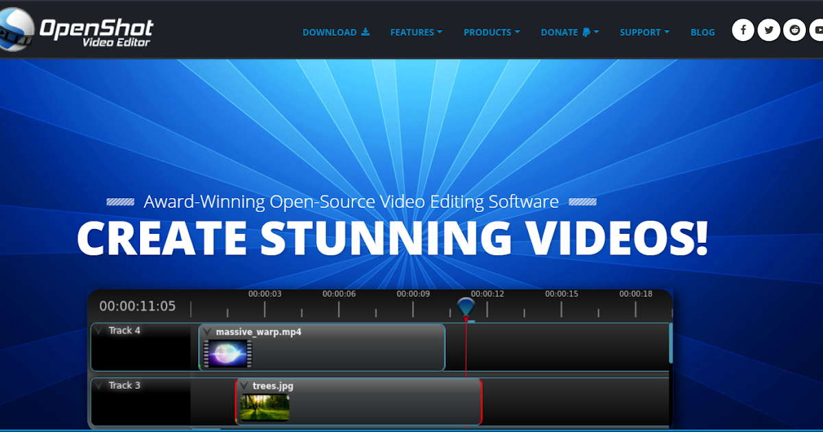 best open source video editing software for windows
